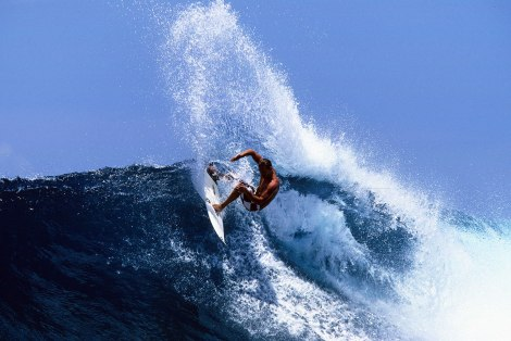 Andy, Speed, Power, Flow Surf training