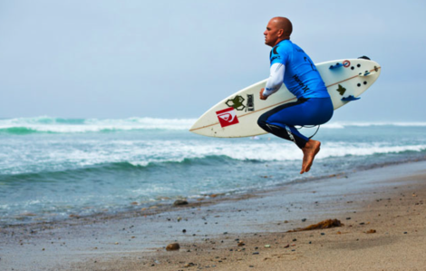 Kelly slater warm up
